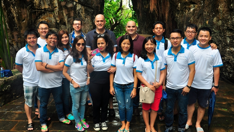 Company trip of Endress+Hauser Asia Pacific Support Center in Vietnam