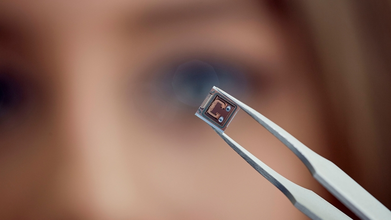MEMS chips of TrueDyne Sensors AG