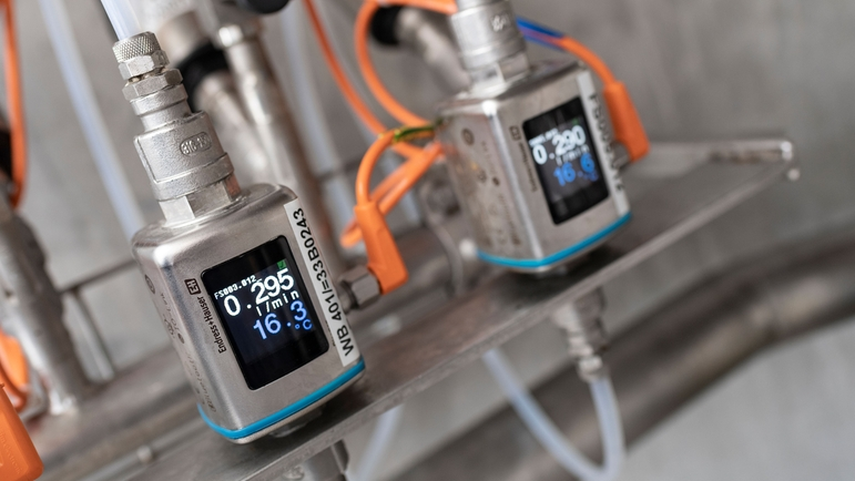 Ehrmann AG places its trust in the Picomag flowmeter from Endress+Hauser