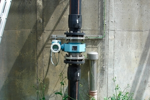 Accurate flow monitoring of wastewater using Promag